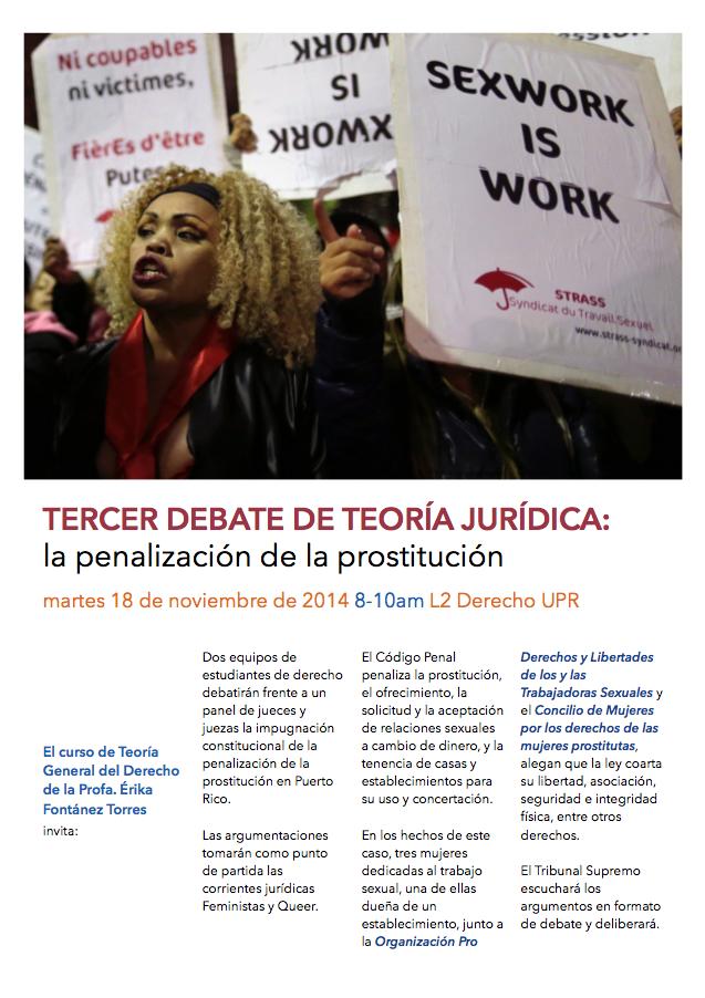 Promo Tercer Debate de Teoría Jurídica