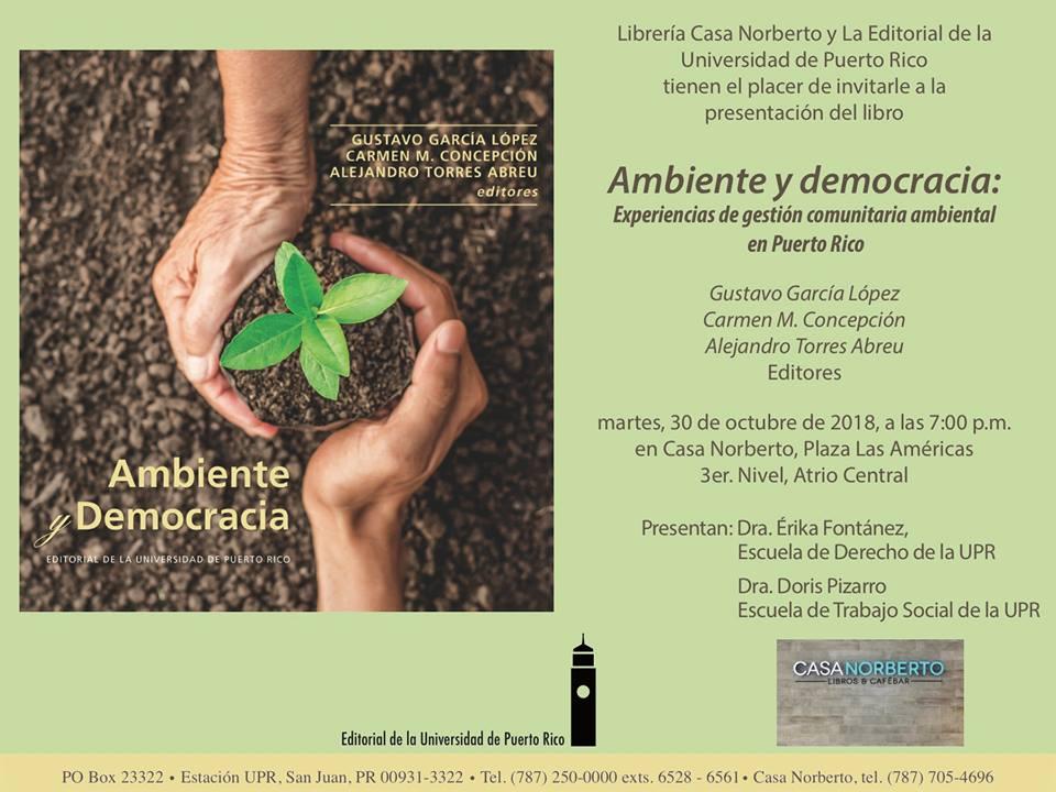 Presentación Ambiente yDemocracia